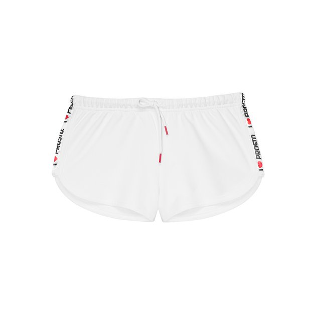 SHORTS HEARTIE WHITE