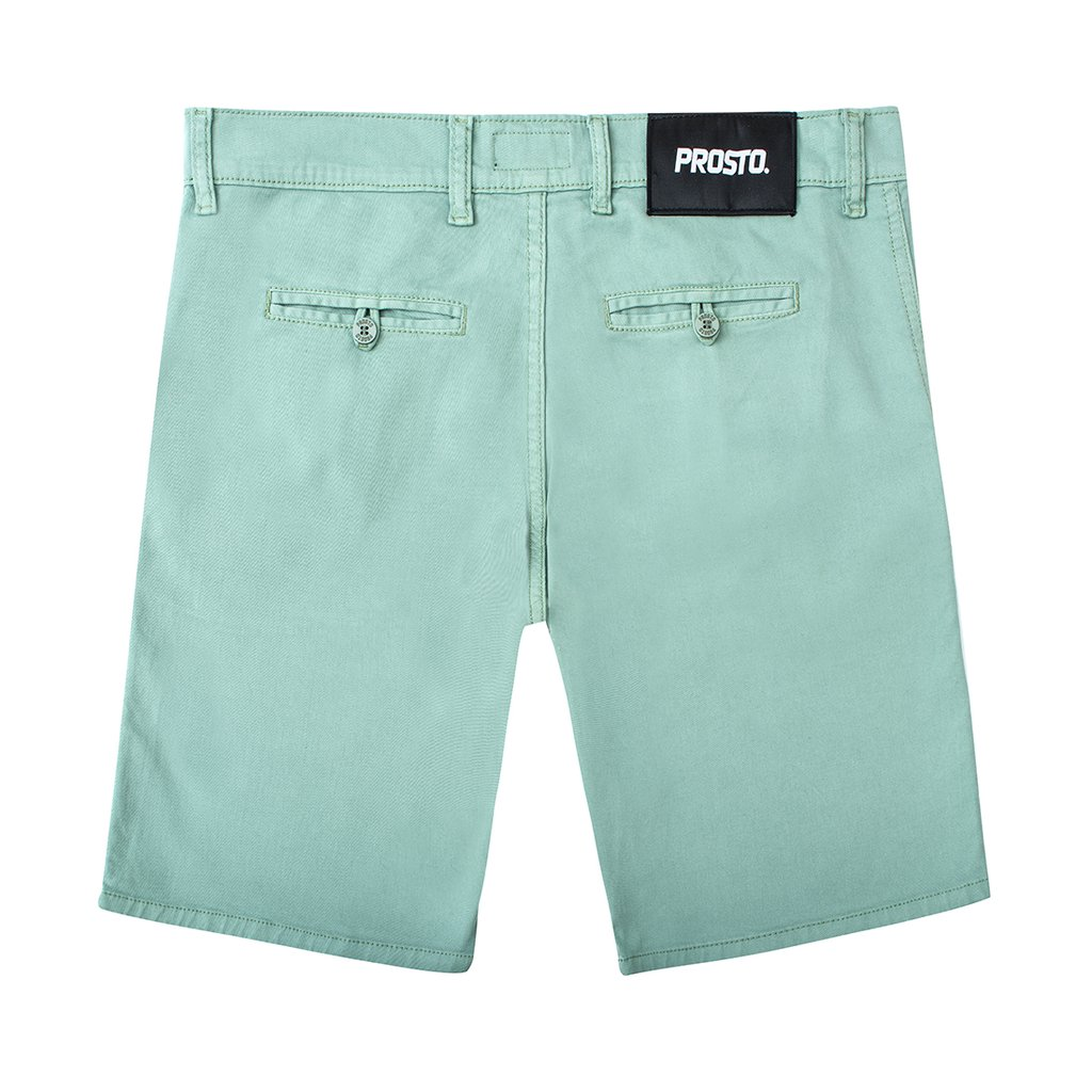 CHINO SHORTS ACID GREEN