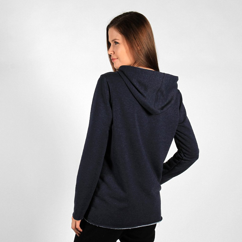 ZIPHOODIE SIMPLE BLUE
