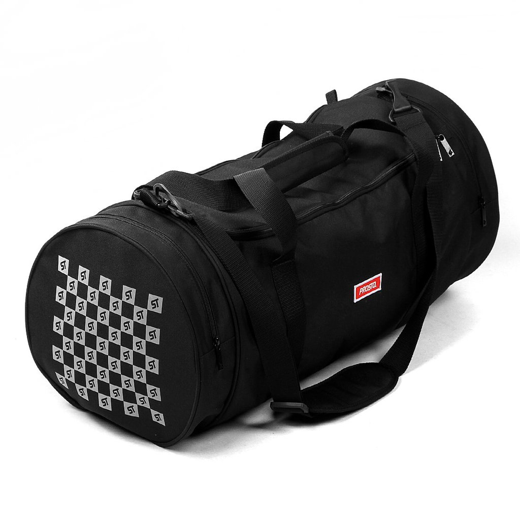 GYMBAG TECH REFLECTION BLACK