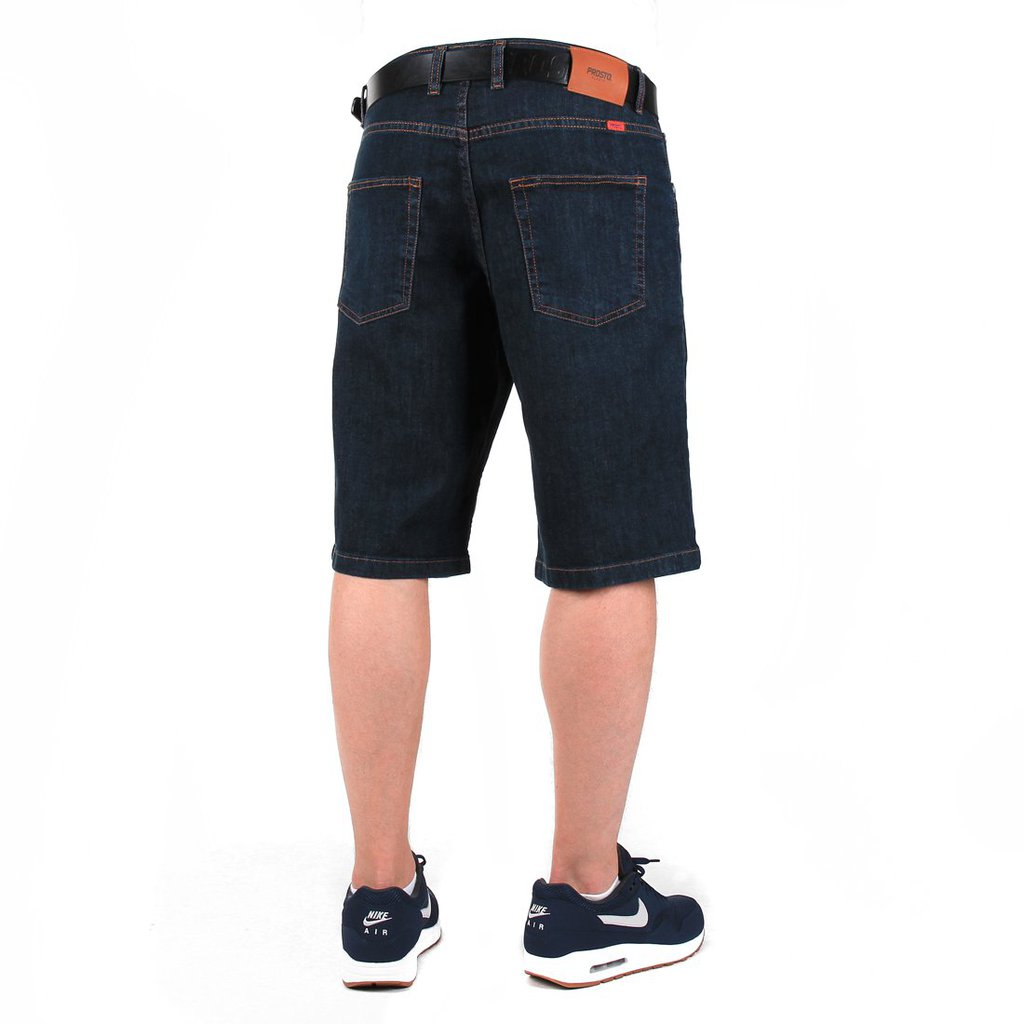SHORTY JEANS SLAVIC DARK BLUE