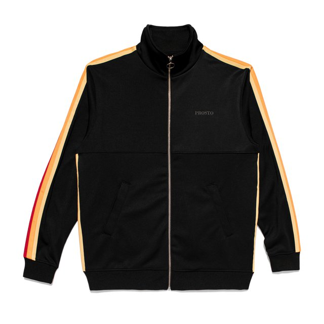 TRACK JACKET HARLEM BLACK