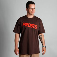 KL T-SHIRT STRAIGHT BROWN