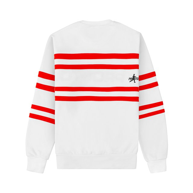 OLDSCHOOL STRIPES WHITE