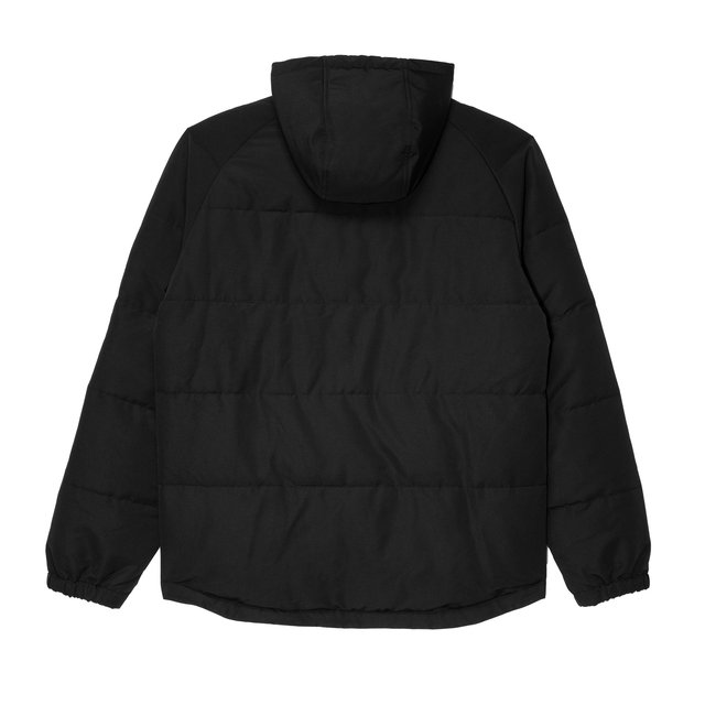 PUFF ANORAK BLACK