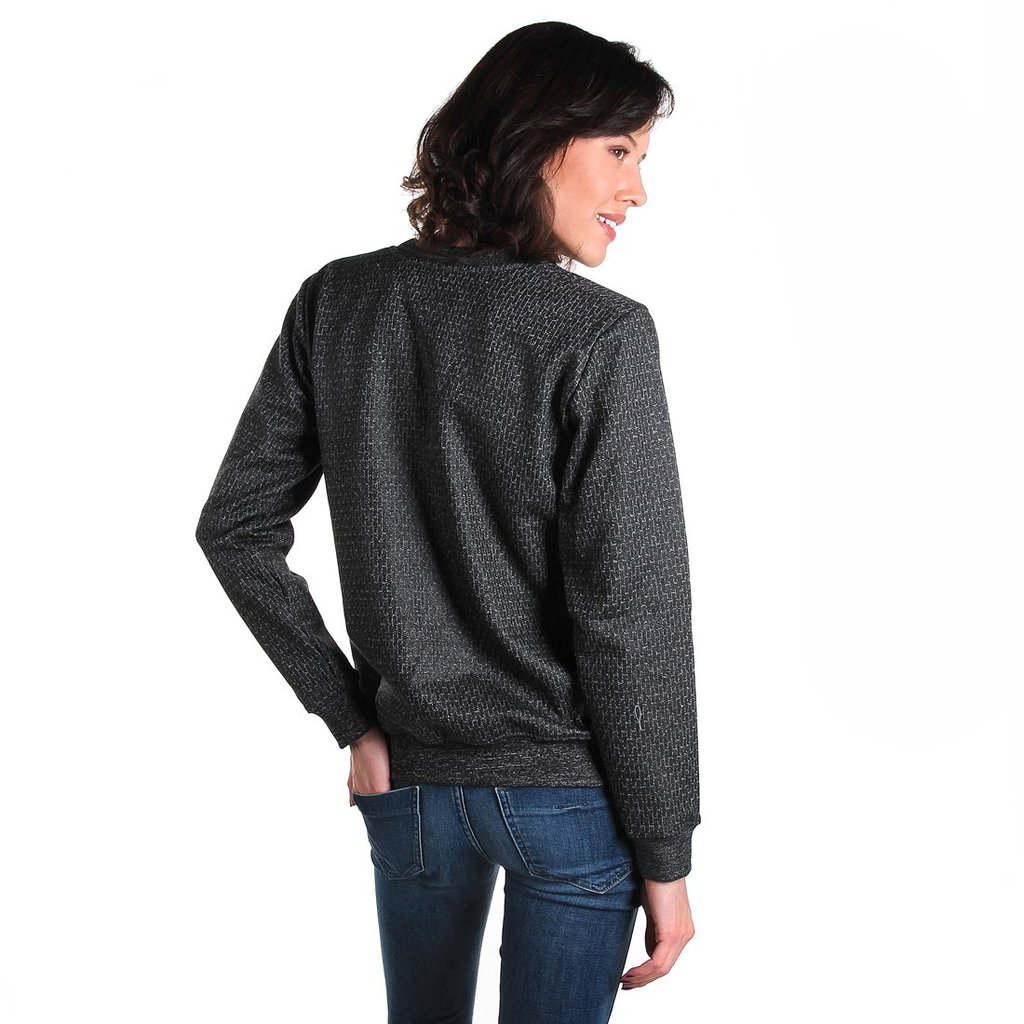 SWEATSHIRT PLEXUS PEPPER HEATHER GREY