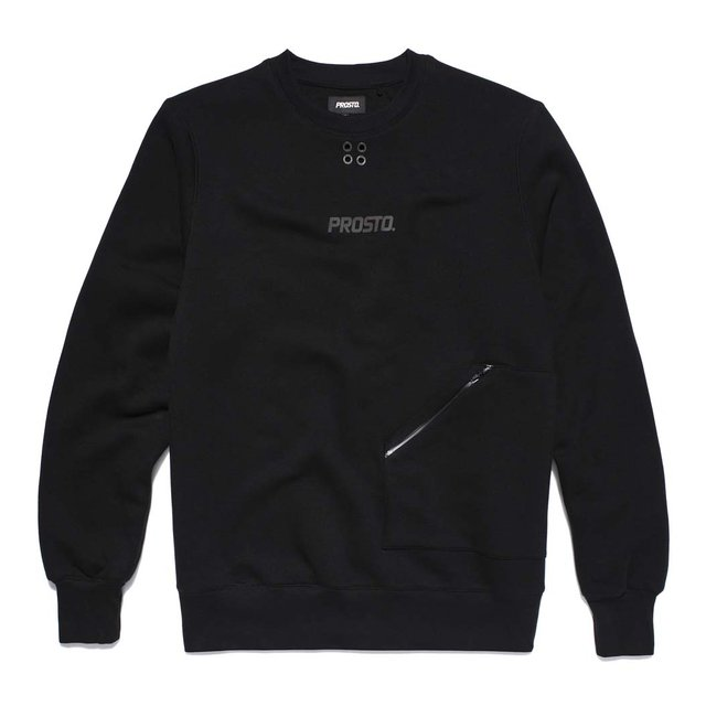 CREWNECK PARIS BLACK