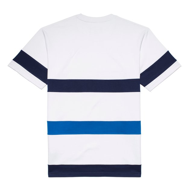T-SHIRT STRIPES REGISTERED WHITE