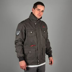KL ZIP JACKET SERGEANT GRAY