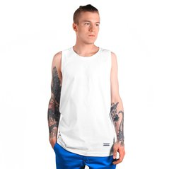 EL TANKTOP CAPTANK TOP WHITE