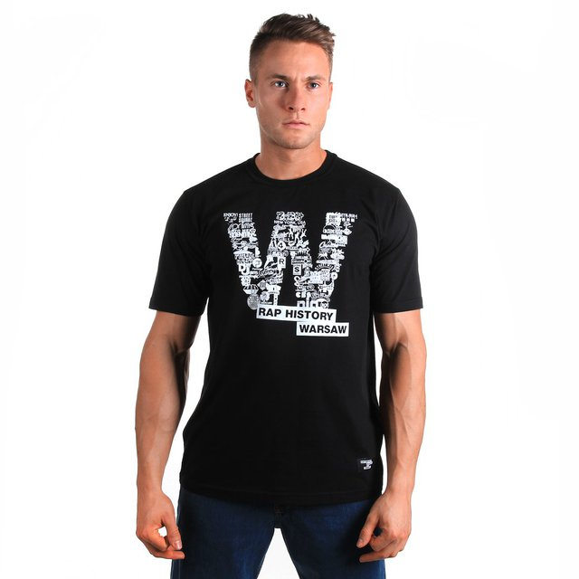 T-SHIRT RHW BLACK
