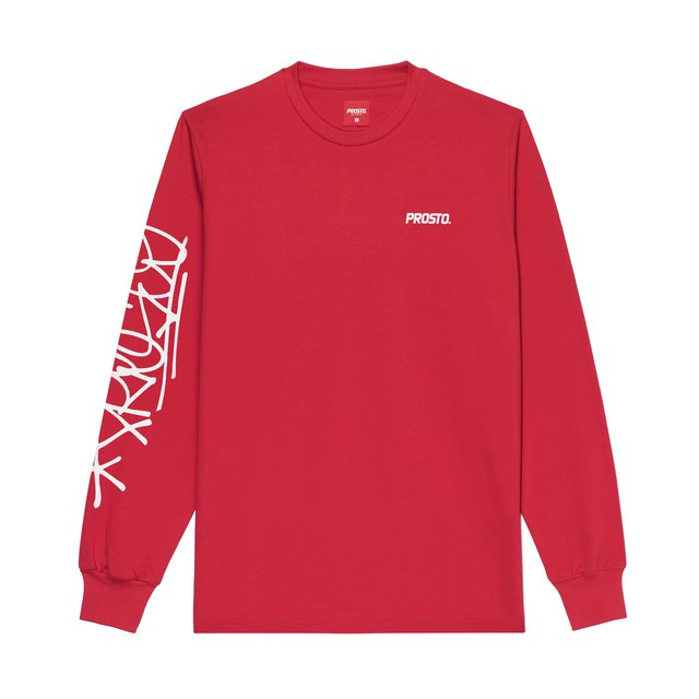 LONGSLEEVE ARMTAG RED
