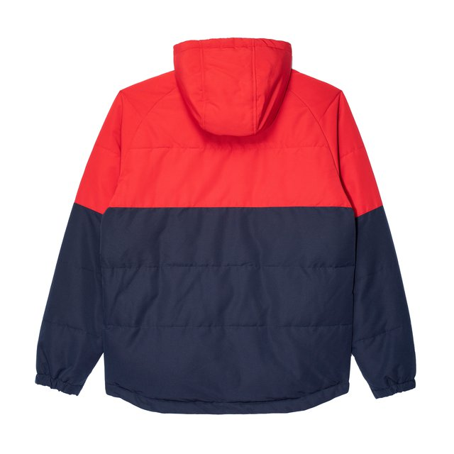 PUFF ANORAK RED