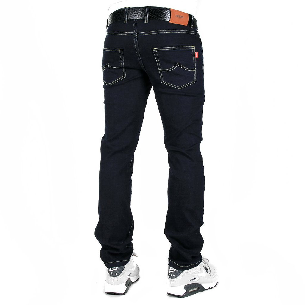 JEANS STRAIGHT DARK BLUE