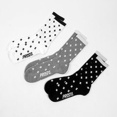 KL SOCK 3PACKS CROSS MIXED
