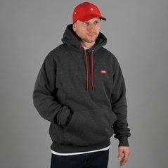 ST HOODY BASIC MEDIUM HEATHER GREY