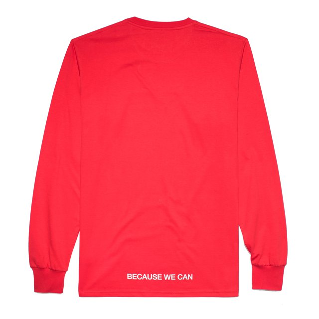 LONGSLEEVE TRADEMARK RED