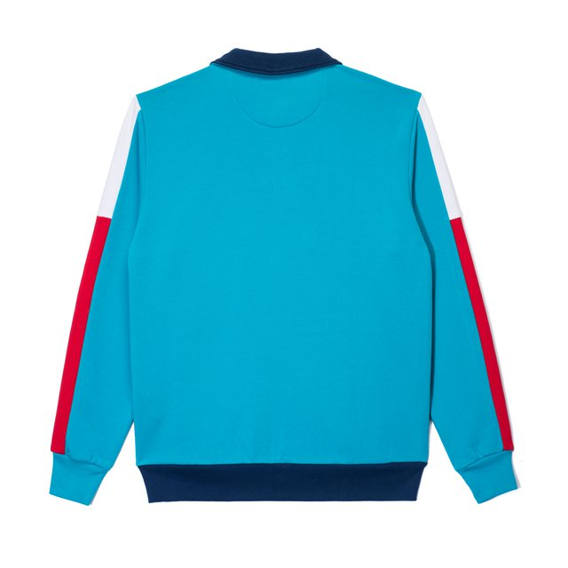 ZIP CREWNECK FAM BLUE