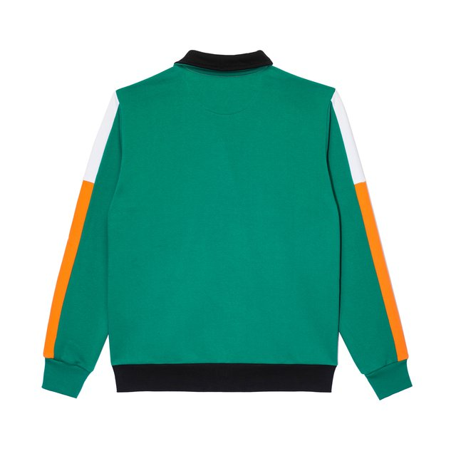 ZIP CREWNECK FAM DARK GREEN