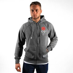 KL ZIPHOODY ROSE MEDIUM HEATHER GREY