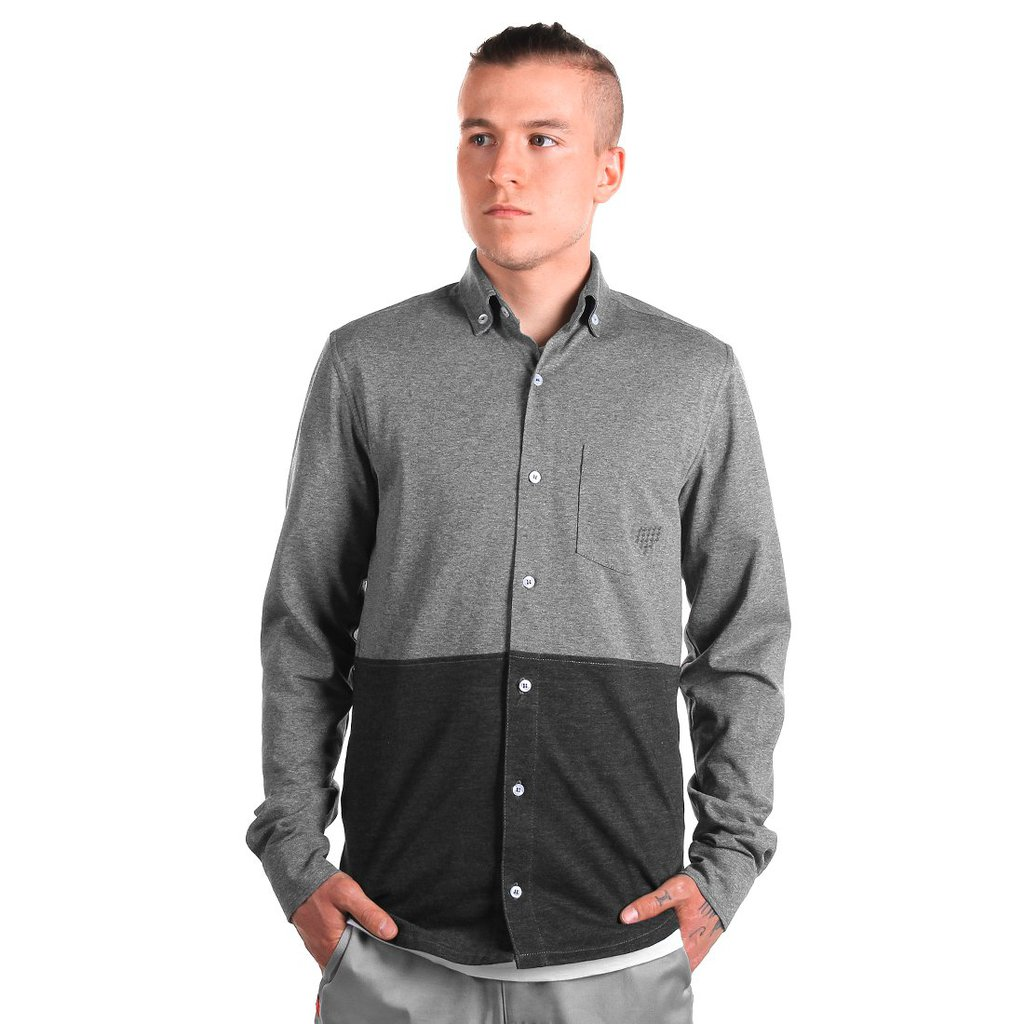 SHIRT DEPTHS DARK GREY