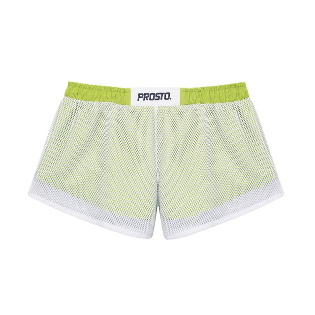 GAME SHORTS NET SPRING GREEN