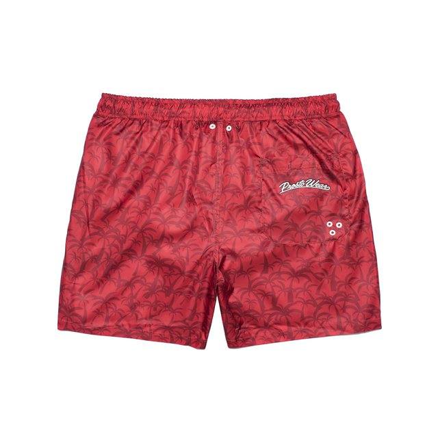 SHORTS ATHENS RED