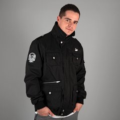 KL ZIP JACKET SERGEANT BLACK