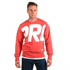 KL SWEATSHIRT FRAGMENT MEDIUM HEATHER RED