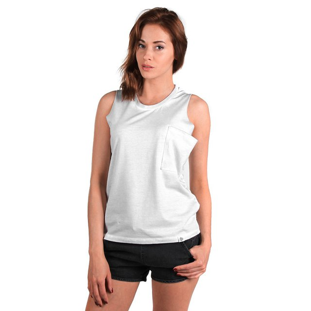 TANKTOP WASHED LIGHT GREY