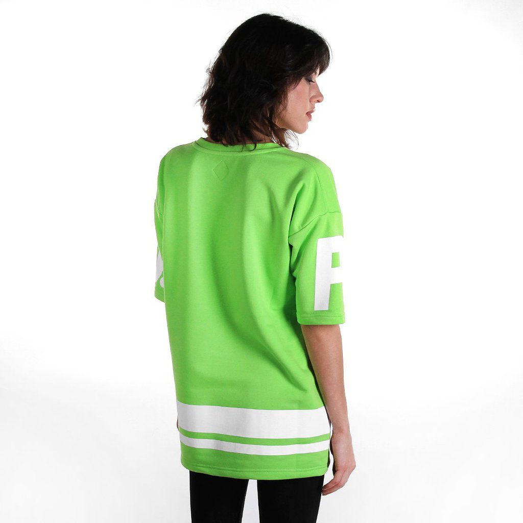 HOCKEY SWEATSHIRT ICE FLUO GREEN
