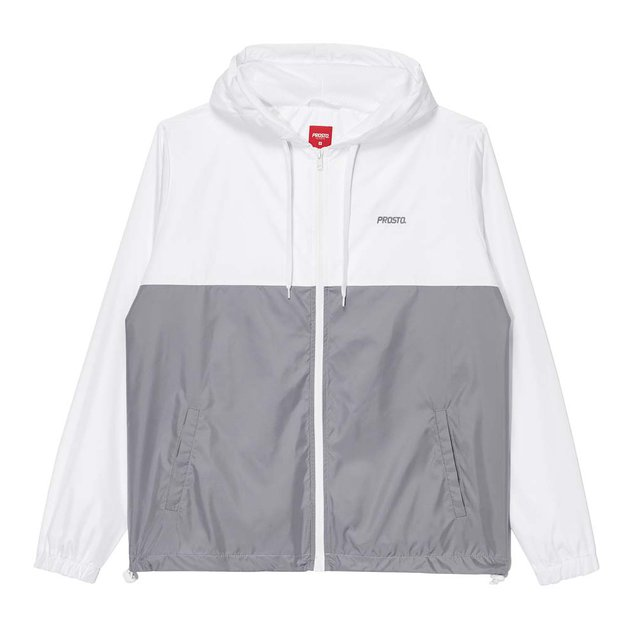 JACKET WINDRUNNER POURING CONCRETE GREY