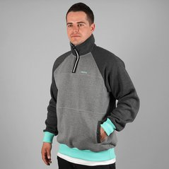 KL SWEATSHIRT CONSIDER DARK HEATHER GREY