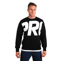 KL SWEATSHIRT FRAGMENT BLACK