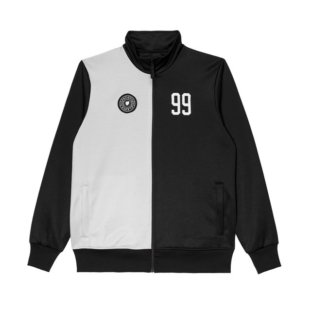 FOOTBALL TRACK TOP MARADONA GREY&BLACK