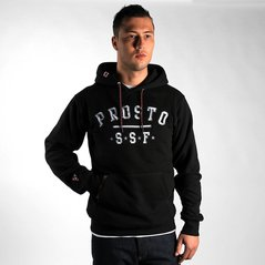 ST HOODY STRUCTURE BLACK