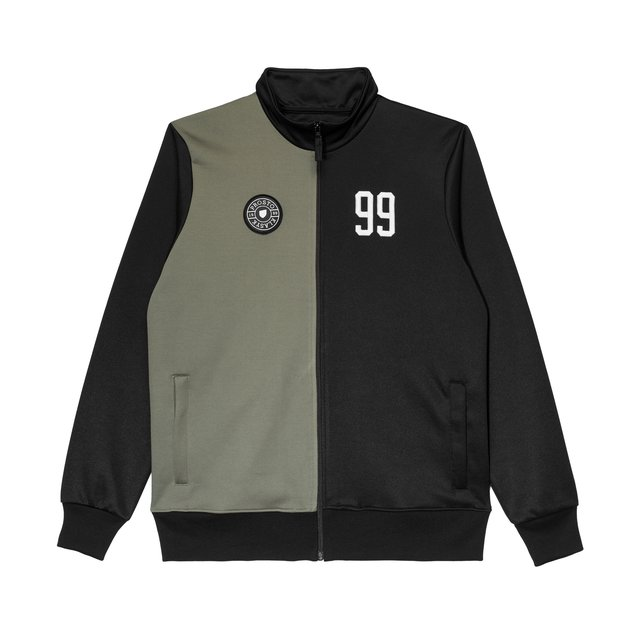 FOOTBALL TRACK TOP MARADONA OLIVE&BLACK