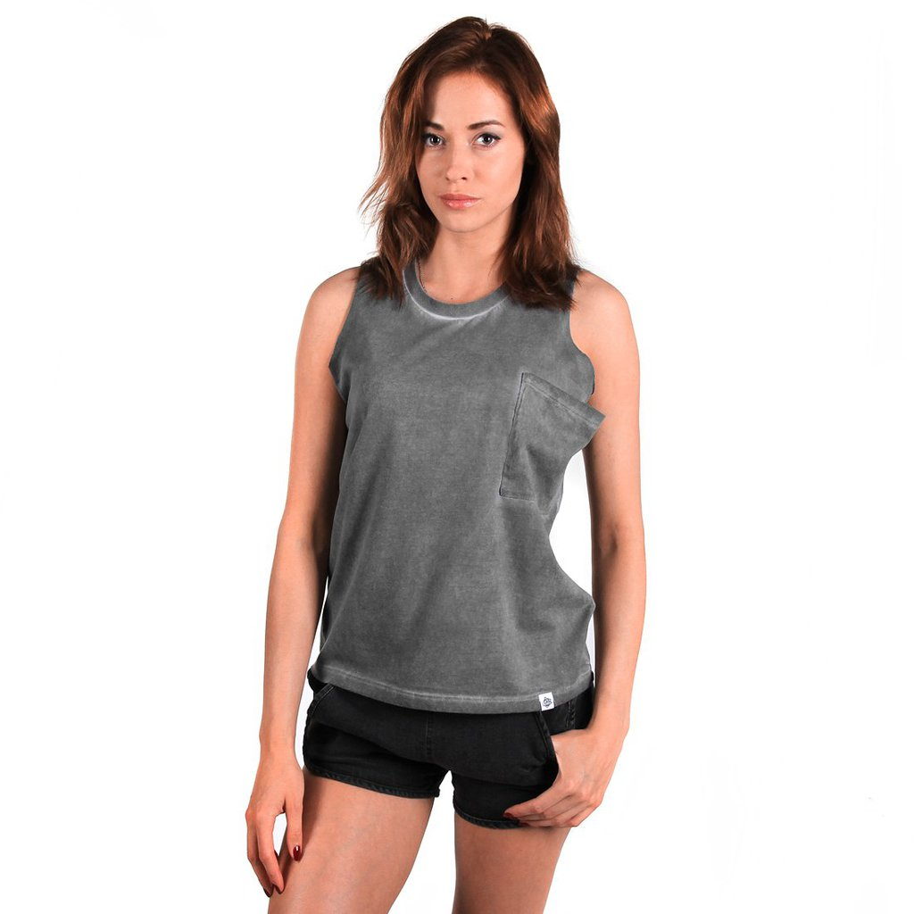 TANKTOP WASHED BLACK