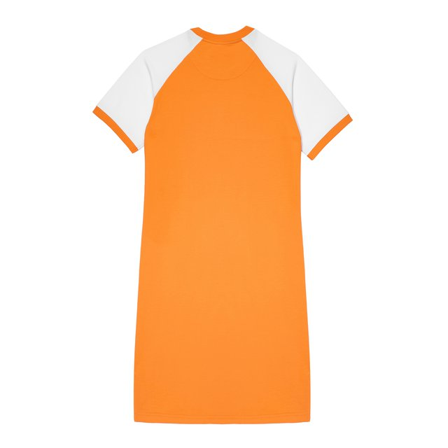 T-SHIRT DRESS RUE ORANGE