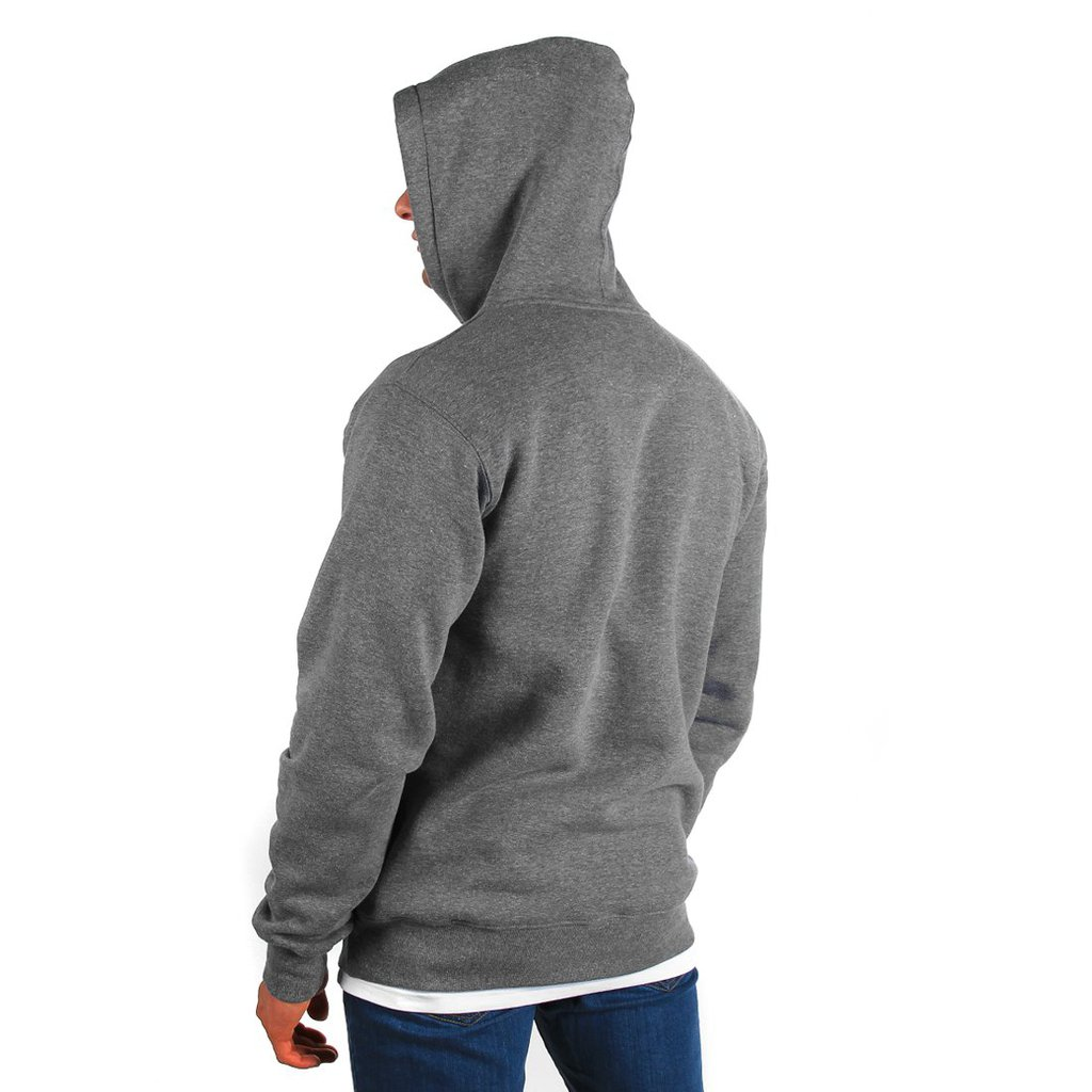 HOODY SUPERIOR MEDIUM HEATHER GREY