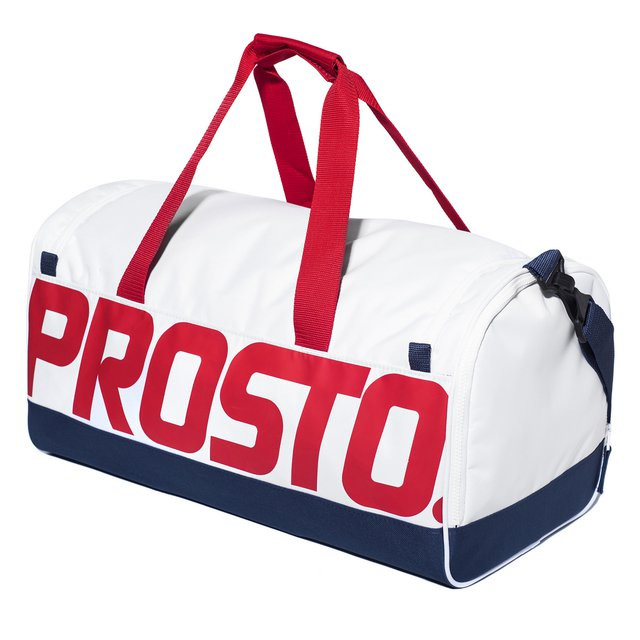 GYM BAG TRES WHITE