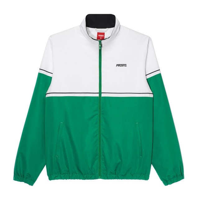 ZIP CREWNECK SAINT DENIS SPRING GREEN