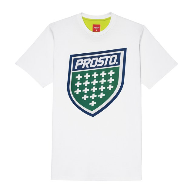 TSHIRT SHIELD XVIII WHITE