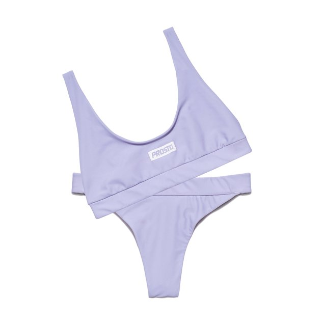TWO PIECE BAYWATCH LIGHT VIOLET