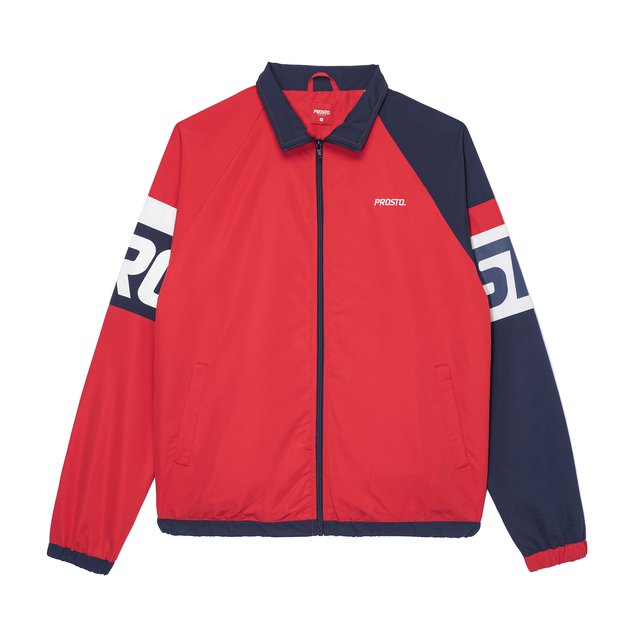TRACKSUIT TOP WINZ RED