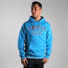 ST HOODY STRUCTURE BLUE
