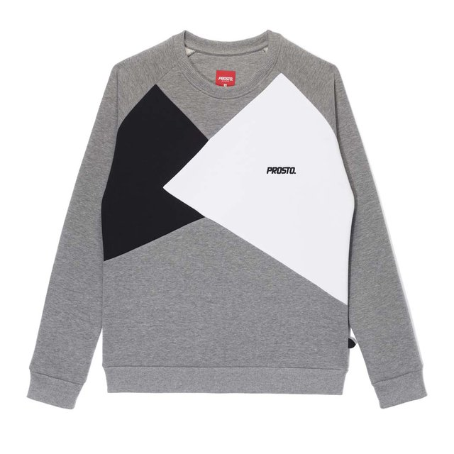CREWNECK ANGLES CONCRETE GREY