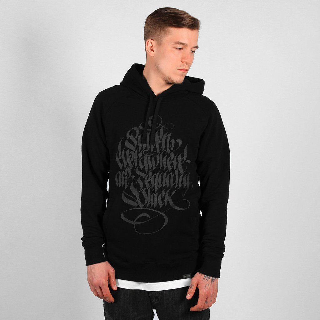 HOODY CROWNN BLACK