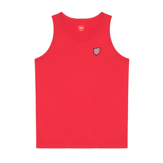 TANKTOP SHIELD V RED