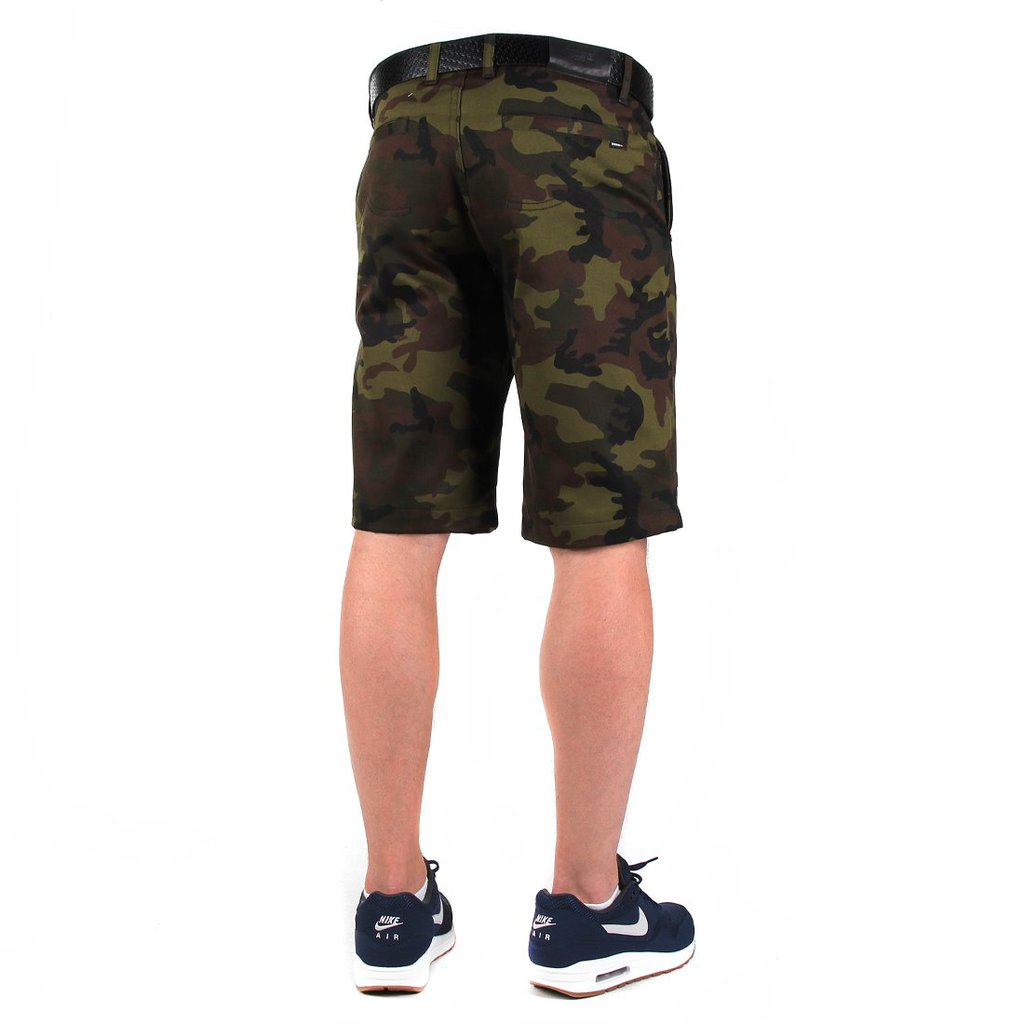 SHORTY CHINO CAMO